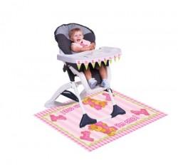 - 1 Yaşındayım Ayıcık Pembe Sandalyesi Kiti
