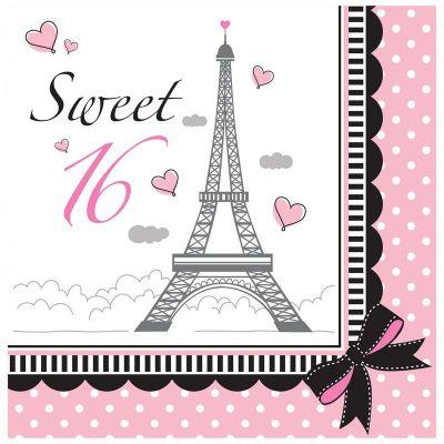 Converting - 16 Yaş Paris Partisi 16 lı Peçete