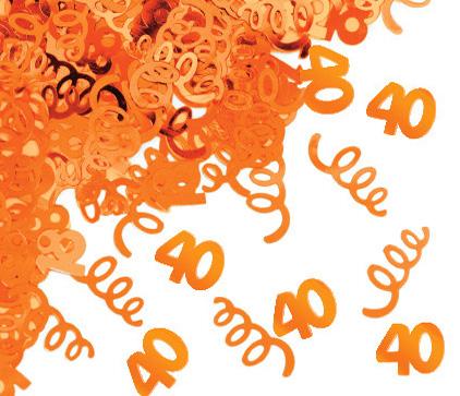 40 Yaş Konfeti