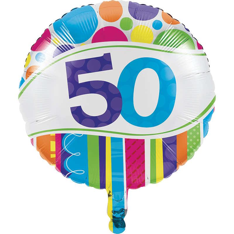 50 Yaş Folyo Balon