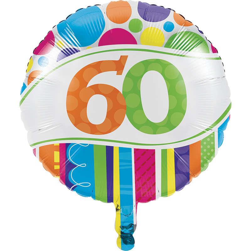 60 Yaş Folyo Balon