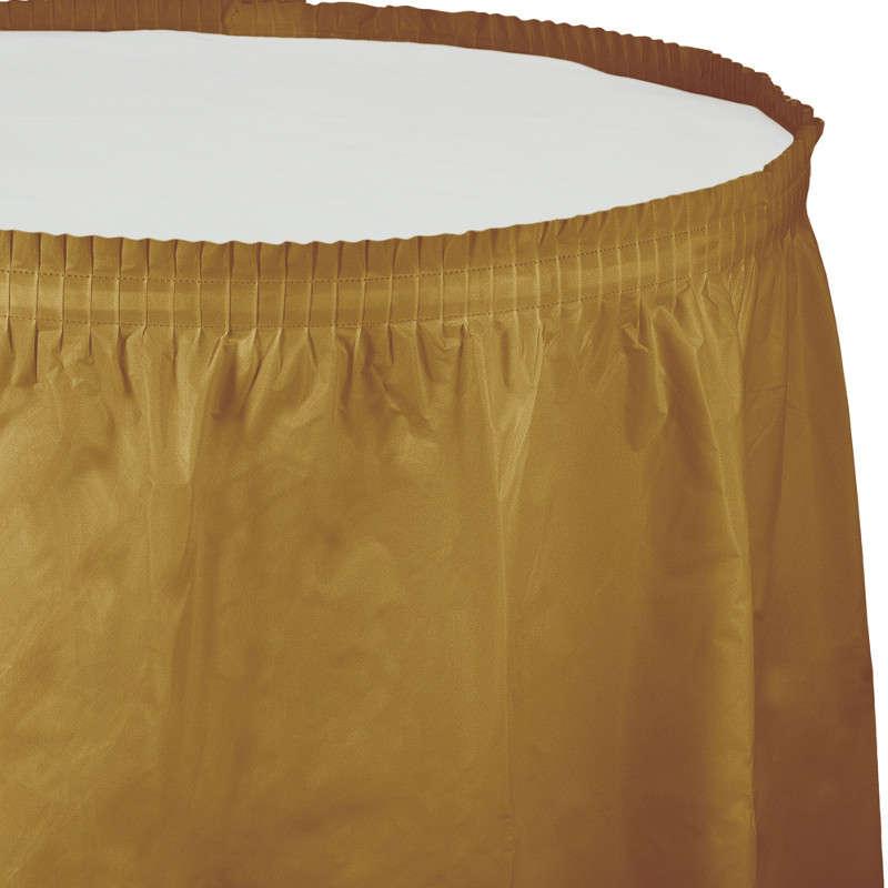 Altın Rengi Masa Eteği