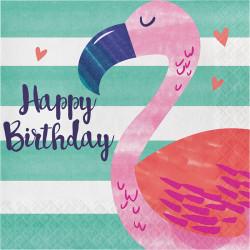 - Ananas, Flamingo ve Arkadaşları 16 lı Peçete / Flamingo
