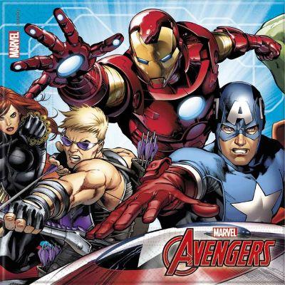 - Avengers Mighty 20 li Peçete