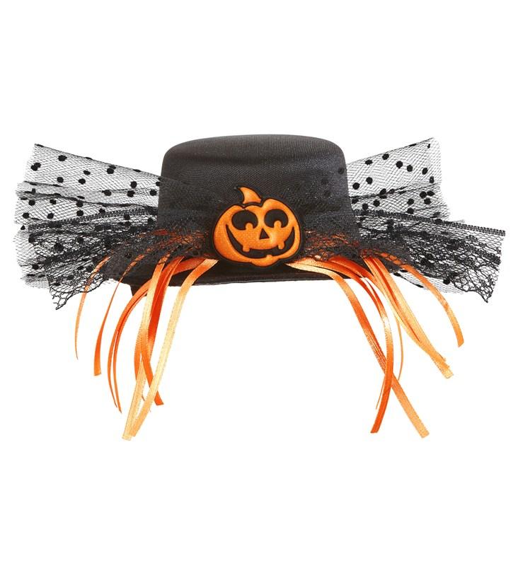 Balkabaklı Mini Şapka