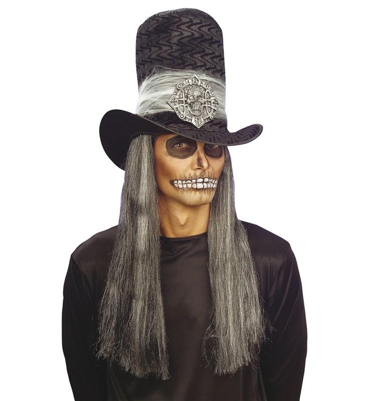Bordo-Siyah Kurukafa Şapka