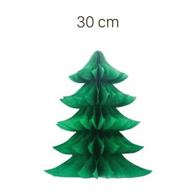 - Çam Ağacı Figürlü Petek Asılabilir Süs 30 cm