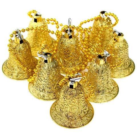 Çan Garlent 100 cm Uzunluğunda (Altın veya Gümüş Renk)