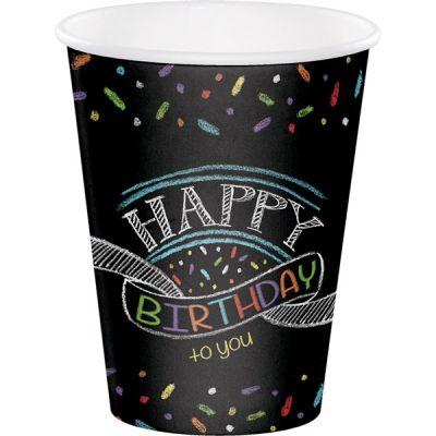 - Happy Birthday to You Bardak 8 Adet