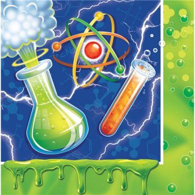 - Çılgın Bilim Adamı Partisi 16 lı Peçete