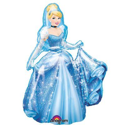 Parti Dünyası - Cinderella Airwalker-Yürüyen Balon