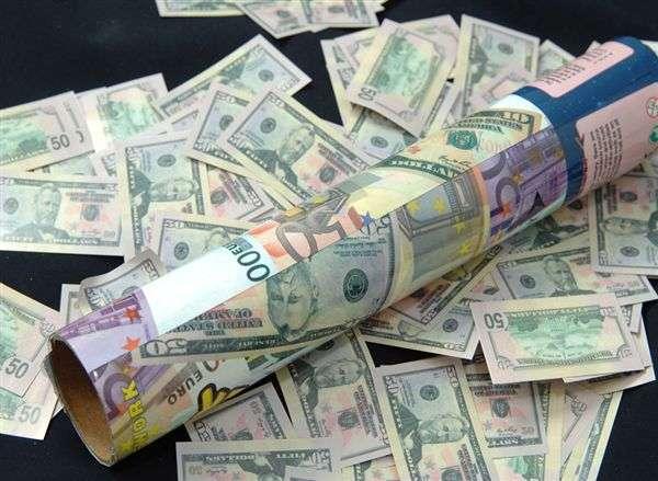 Dolar Patlayan Konfeti 40 cm