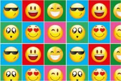 - Emoji Etiket 10,5 x 7 cm 12 Adet