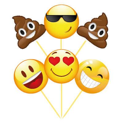 Emojiler 6 Lı Kürdan