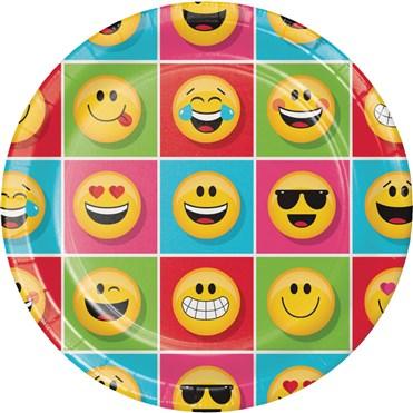 Emojiler Partisi 8 li Tabak