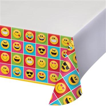 - Emojiler Partisi Masa Örtüsü