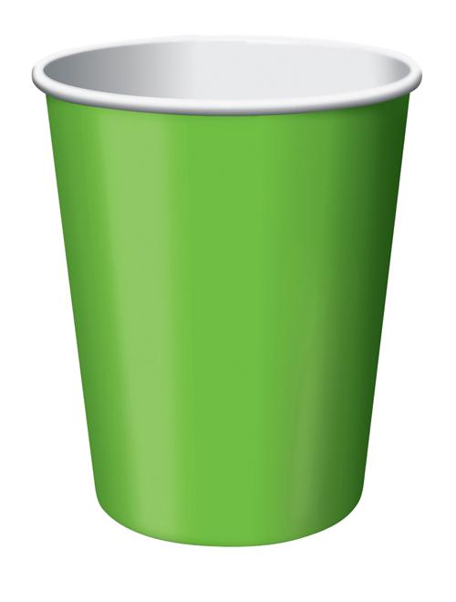 Fıstık Yeşili 8 Li Bardak