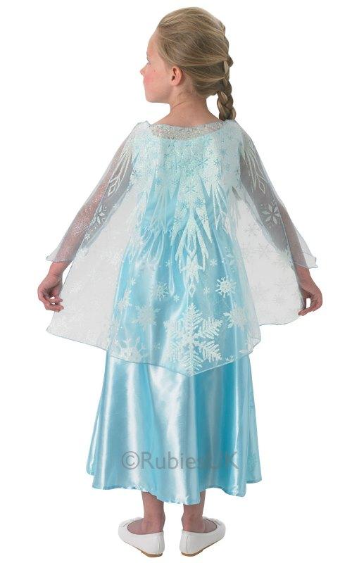 Frozen Müzikli Lüx Elsa Kostümü