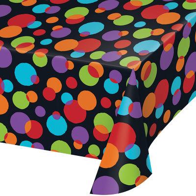 - Işıltılı Balonlar Masa Örtüsü