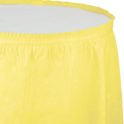 - Kanarya Sarısı Masa Eteği