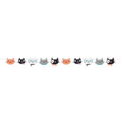 - Kedicikler Asma Süs 170 cm Uzunluğunda