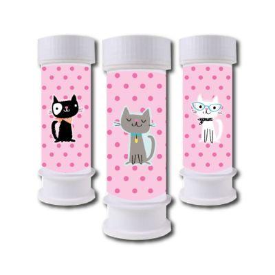 - Kedicikler Hediyelik Köpük Baloncuk 6 Adet