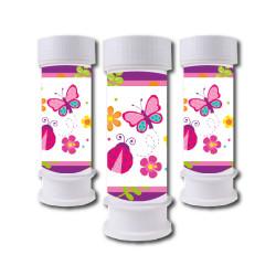 - Kelebekler Köpük Baloncuk 6 Adet