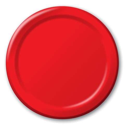 Kırmızı 8 li Tabak