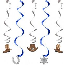 - Kovboy Partisi Süs Dalgası 5 Adet