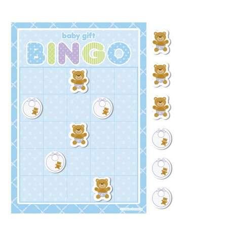 Mavi Bebek Ayıcık Bingo Oyunu