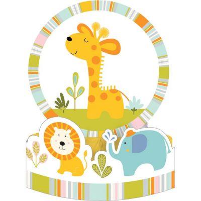 Parti Dünyası - Mini Safari Partisi Masa Orta Süsü