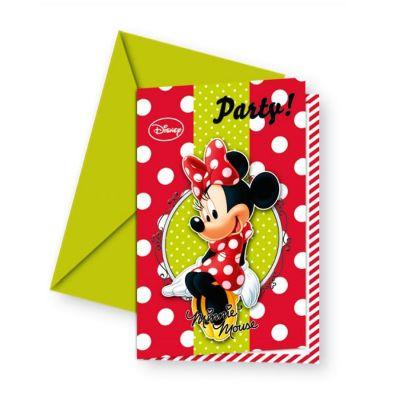 Procos - Minnie Fashion Puanlı 6 lı Davetiye