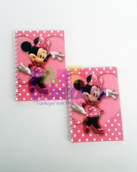 Parti Dünyası - Minnie Mouse Pembe Not Defteri