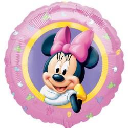 - Minnie Mouse Portre 18 inç Folyo Balon