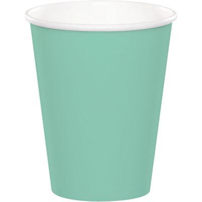Mint Yeşili Bardak 8 Adet