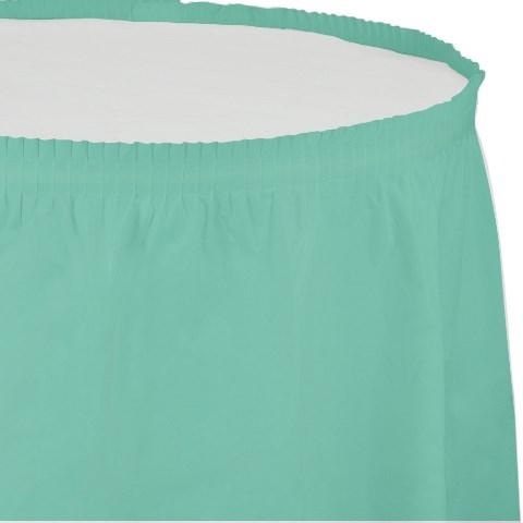 Mint Yeşili Masa Eteği