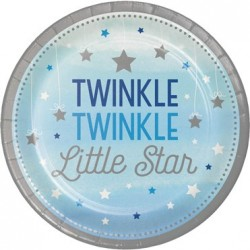 - One Little Star Mavi 8 li Tabak