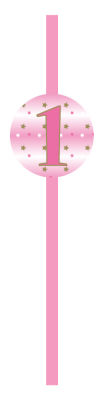 - One Little Star Pembe 10 Lu Pipet