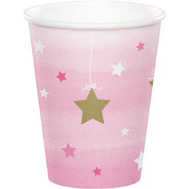 - One Little Star Pembe 8 li Bardak