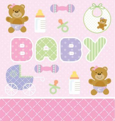 Converting - Pembe Bebek Ayıcık Masa Örtüsü