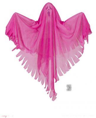 - Pembe Işıklı Hayalet 45 cm Asma Dekor Süs