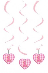 - Pembe Kalpli 1 Yaş Süs Dalgası 3 Adet
