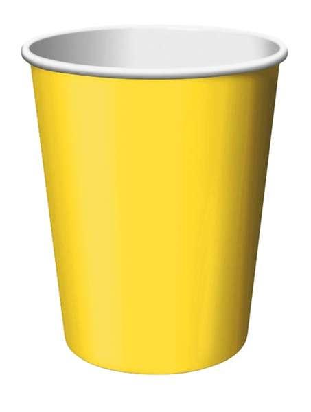 Sarı 8 li Bardak