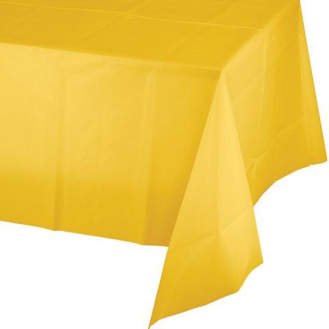 Sarı Masa Örtüsü 137 x 274 cm