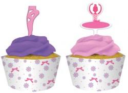 - Sevimli Balerin Cupcake Kılıfı