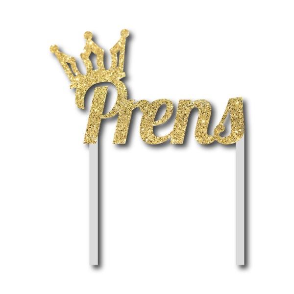Simli Altın Prens Çubuklu Yazı