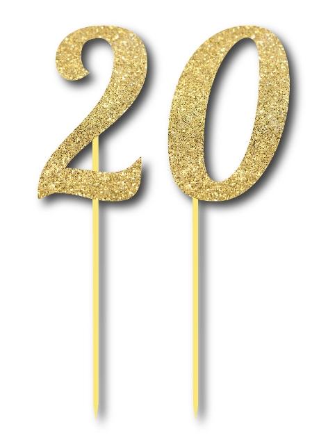 Simli Altın Renk 20 Yaş