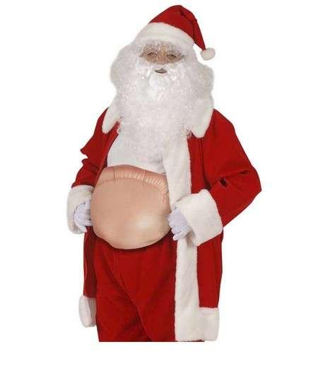 Şişme Noel Baba Göbeği
