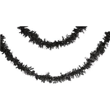 Siyah Pelür 7,65 mt. Uzunluğunda Asma Süs/Garlent