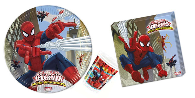Spiderman SUPER Paket